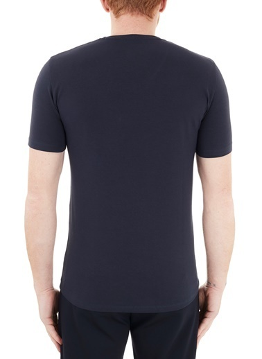 Armani Exchange  Pamuklu V Yaka T Shirt Erkek T Shırt 8Nzt85 Z8M9Z 1510 Lacivert